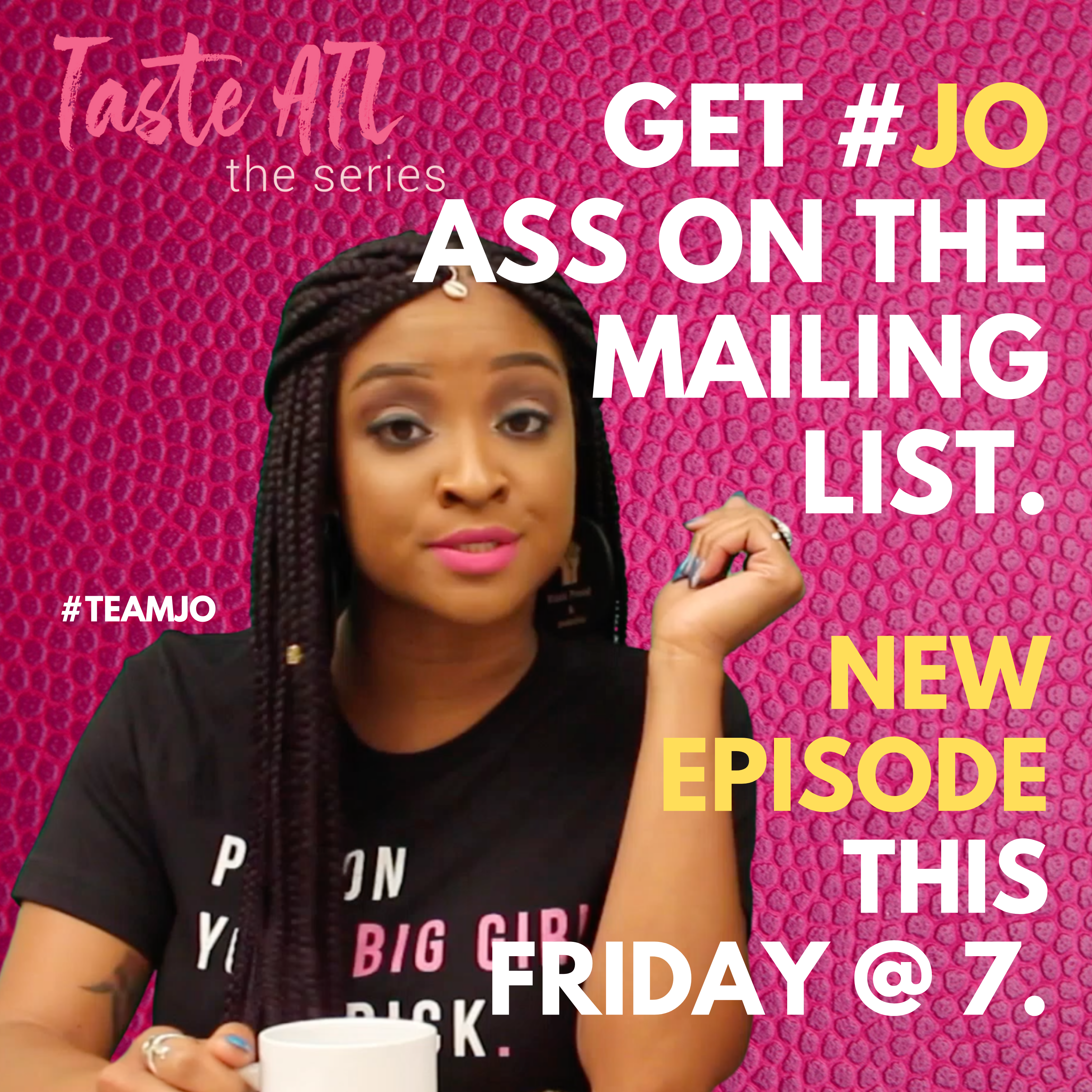 Taste ATL: The Series is Quenching our Thirst this Friday @ 7PM ET.